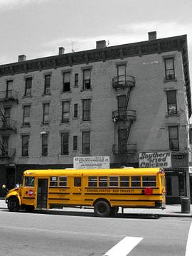Schulbus in New York von Gert-Jan Siesling