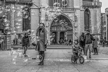 genieten van bellen in Gent sur anne droogsma
