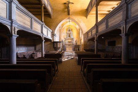 Verlaten Kerk in Polen.