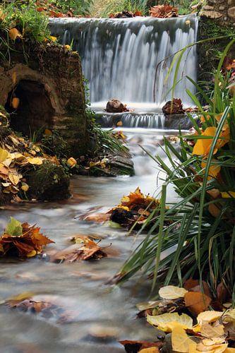 Waterfall Alhambra van Cornelis (Cees) Cornelissen