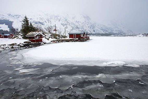 Huisjes op de Lofoten