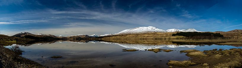 Schotland Panorama Skyfall van Anja Van Geert