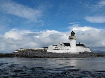 Zeige  den Weg - Schottischer Leuchtturm von Jutta Klassen