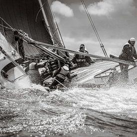 Segeln Skûtsje Leeuwarden von ThomasVaer Tom Coehoorn