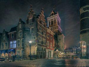 Delicios Delft under a Vermeer sky van Machiel Koolhaas