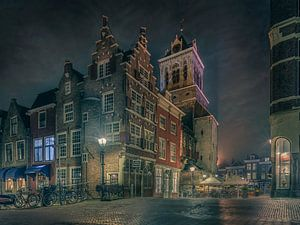 Delicios Delft under a Vermeer sky