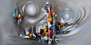 Abstract World van Gena Theheartofart