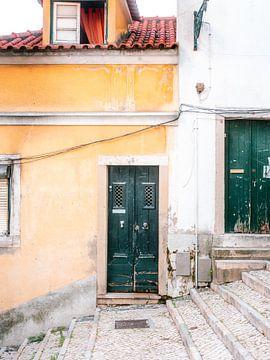 La porte verte de Lisbonne sur Raisa Zwart