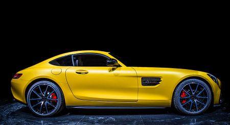 Mercedes AMG GT van Gerrie Tollenaar