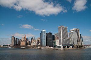 New york skyline manhattan van
