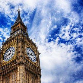 La City et ses monuments comme Big Ben, Tower Bridge, St Paul's ou le Palais de Buckingham pour des reproductions Rock&Roll