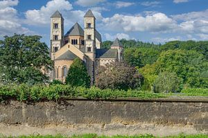 Maria Laach Klooster,Eifel van Peter Eckert