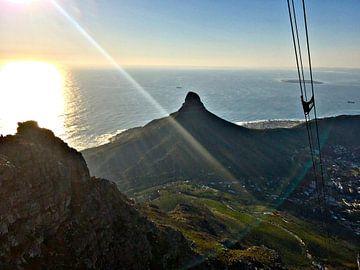 Blick vom Tafelberg von zam art