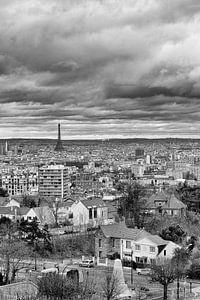 Clouds over Paris von Robert Kersbergen
