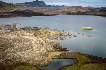 Lake in  Landmannalaugar von Ab Wubben