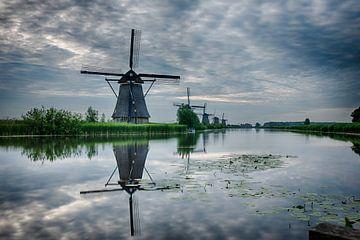 Kinderdijk Nederland von Dick van der Wilt