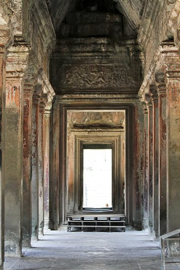 Im Tempel von Angkor Wat