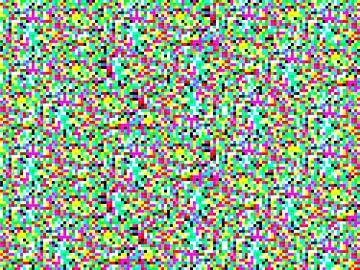 Disco Pixel 1 van Dennis van Dorst