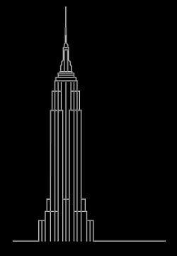Empire State - New York City (USA) von Marcel Kerdijk