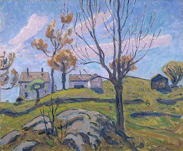 Allen Tucker-Herbstbauernhof