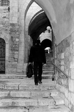 Ancien quartier juif, Jérusalem sur Inge Hogenbijl