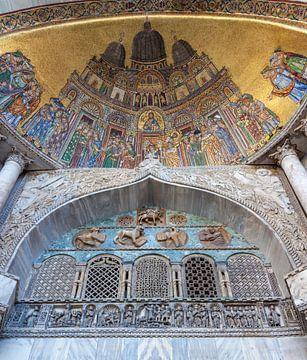 Mosaik der Übersetzung des Körpers des Heiligen Markus von Joost Adriaanse