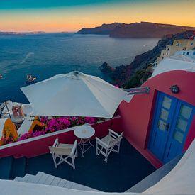 Santorini - Griekenland von Roy Poots