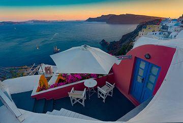 Santorini - Griekenland sur Roy Poots