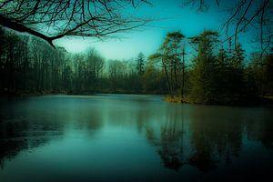Het mystieke bevroren meer