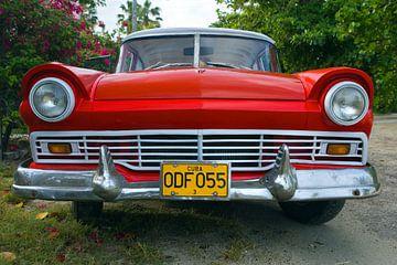 Ford Fairlane, Havanna, Kuba von Henk Meijer Photography