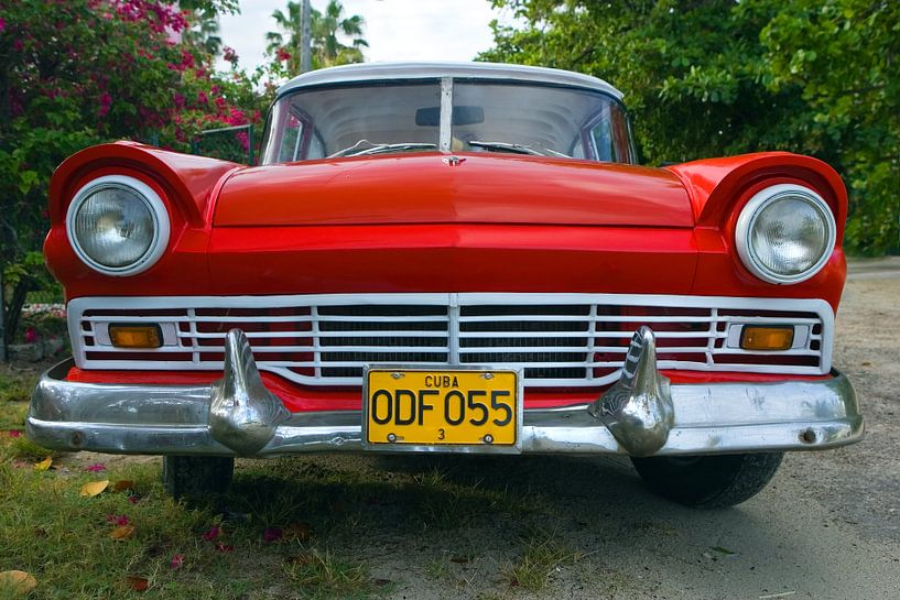 Ford Fairlane, Havana, Cuba van Henk Meijer Photography
