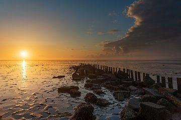 Zonsopkomst waddenzee Texel van LYSVIK PHOTOS