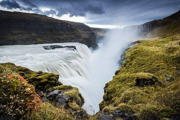 Gulfoss, IJsland van Fenna Duin-Huizing