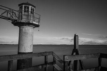 Leuchtturm Lauwersmeer von Lucas Planting