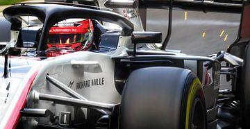 Alfa Romeo-Rennstall in der Qualifikationsrunde von Stefano Scoop