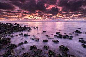 Ameland Sonnenuntergang von Bart Harmsen