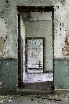 Verlassenes Haus in Belgien von Digitale Schilderijen