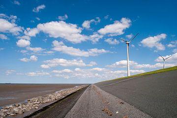 Mooie lijnenspel aan de kust van Groningen von Ilse Radstaat