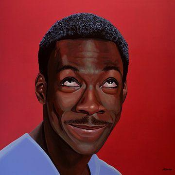 Eddie Murphy schilderij van Paul Meijering