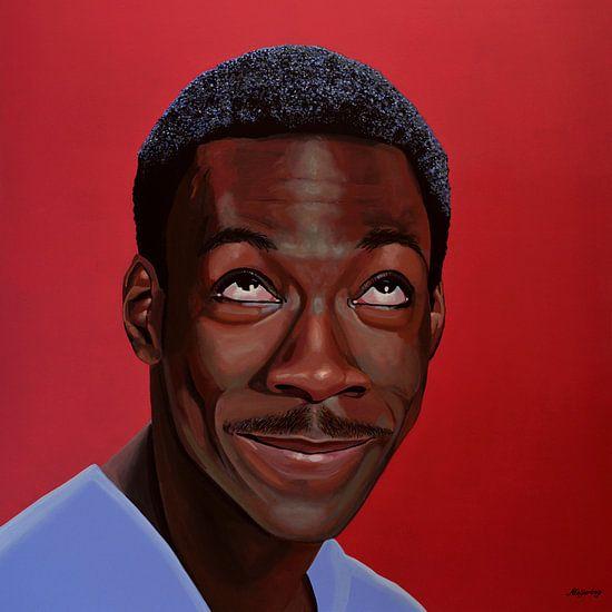 Eddie Murphy schilderij