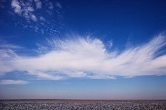 Wolkenimpression van Angela Dölling