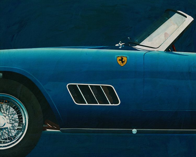 Ferrari 250GT Spider California van Jan Keteleer