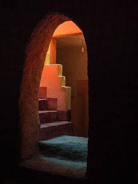 Marrokanische Treppe von José Lugtenberg