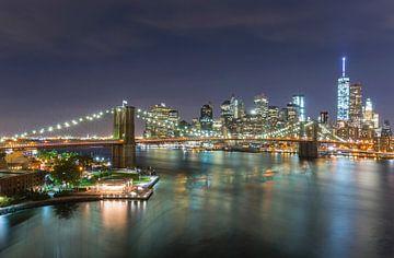 Skyline von New York City von Marcel Kerdijk