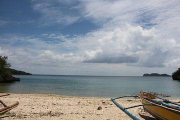 Tropisch strand met Bangka von Stefan Speelberg