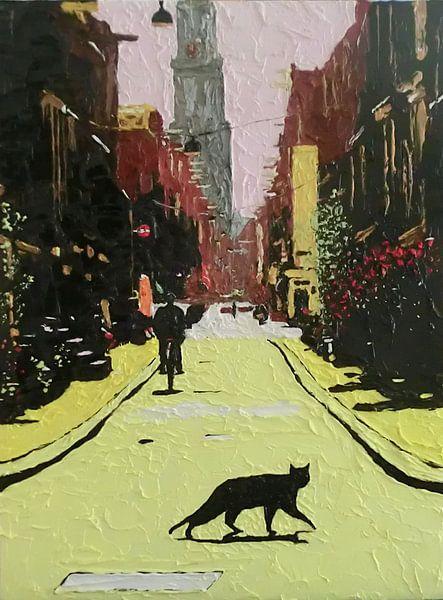 straatkat van Harry Gijsberts