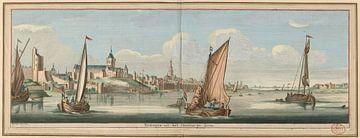 Östliche Ansicht von Nijmegen , Jan Ruyter