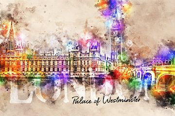 Palace of Westminster - Londen