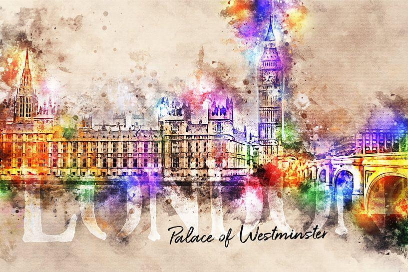 Palace of Westminster - Londen van Sharon Harthoorn