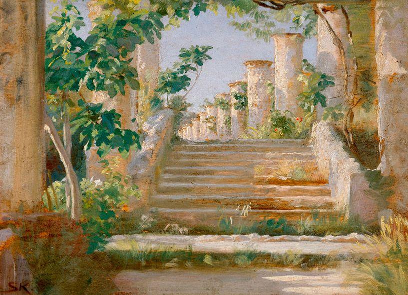 Loggia in Ravello, Peder Severin Krøyer von Meesterlijcke Meesters